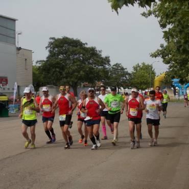 Ecorace Media Maratón de Almagro 2018