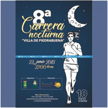 Previo VIII Carrera Nocturna Villa de Piedrabuena