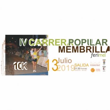 Carrera Popular 10K Membrilla Ferimel 2019