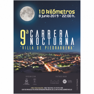Casi 600 atletas correrán la Nocturna de Piedrabuena