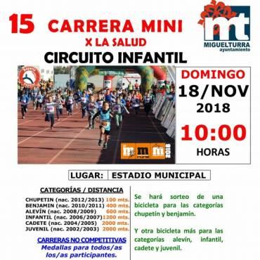 Guardería en la Media Maratón Rural de Miguelturra 2018