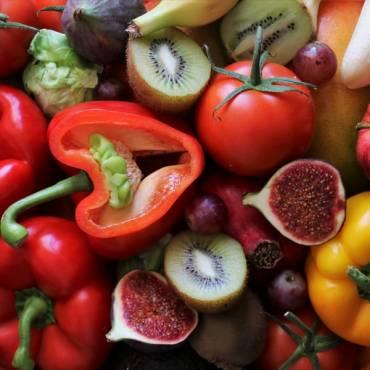 El consumo de frutas y hortalizas