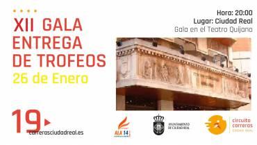 Gala del Circuito el próximo 26 de enero en el Teatro Quijano de C. Real