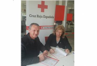 Renovado el convenio con Cruz Roja.