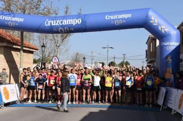 Ramona Trujillo y Javier Martín vencen en la XIV Media Maratón de Bolaños.
