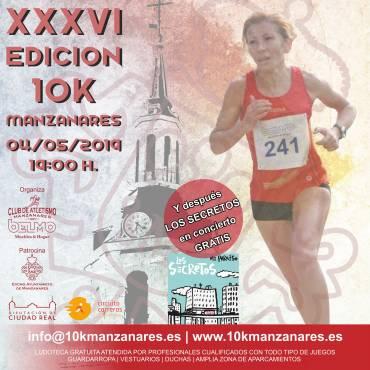 Centenares de atletas correrán la Carrera Urbana Ciudad de Manzanares 2019
