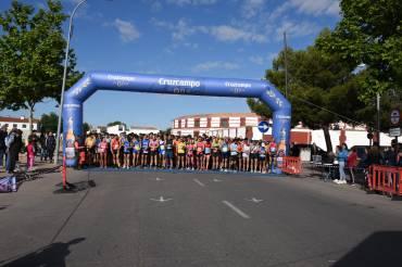 Gemma Arenas y Javier Martín vencen XV Ecorace Media Maratón de Almagro