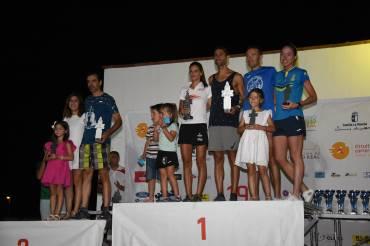 Los membrillatos Mª José Cano e Imanol Cruz triunfan en la10K Membrilla Ferimel 2019