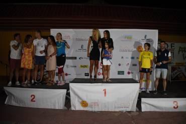 Mª Jose Cano y David de la Cruz triunfan en la carrera de las Antorchas