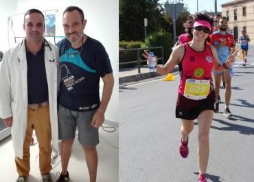 Hoy entrevistamos a los ganadores de la prueba de esfuerzo Ángela Molina y José Ronco