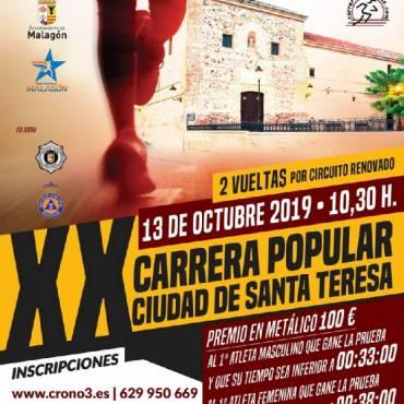 Carrera Popular Ciudad de Santa Teresa 2019