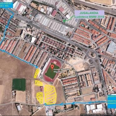 Parking de la Media Maratón Rural Villa de Miguelturra 2019