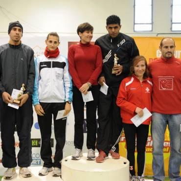 Participación de los atletas en el Circuito de Carreras