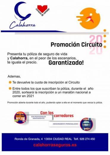 Calahorra Seguros ofrece ventajas a los inscritos en el Circuito