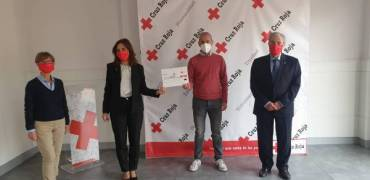 El Circuito de Carreras entrega a Cruz Roja la recaudación de su 'Reto 2020'