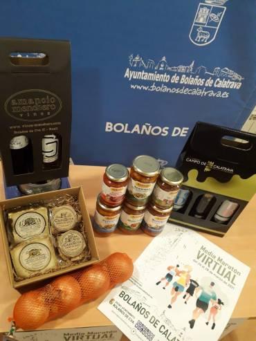 Sorteo de premios y regalos para corredores y clubes de la media maratón virtual de Bolaños